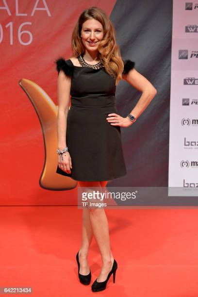 Mara Bergmann attend the Kinderlachen Gala at Westfalenhallen on November 26 2016 in Dortmund Germany