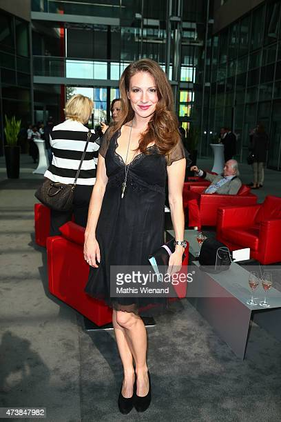 Mara Bergmann poses during the pre golf party of the 7th Golf Charity Cup hosted by the Christoph Metzelder Foundation on May 17 2015 in Cologne...