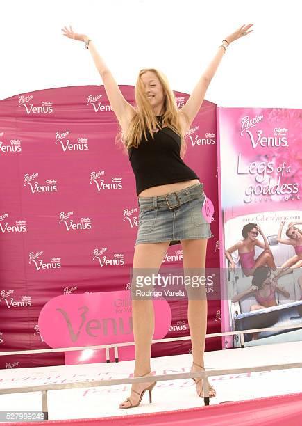 Mara Degenhardt Winner of the Gillette Passion Venus Legs of a Goddess Contest
