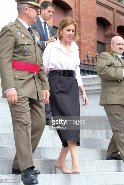 María Dolores de Cospedal he attends the closing ceremony of 18th Staff Course of the Higher Staff College of the Armed Forces in Madrid Spain 26...