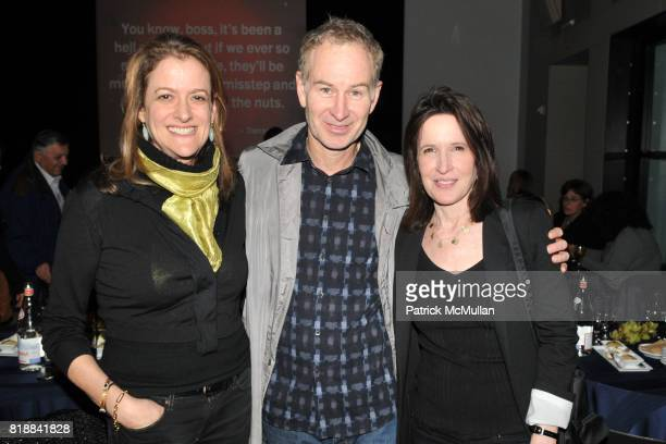 Mara Manus John McEnroe and Katrina Vanden Heuvel attend TIME INC Live and Unfiltered Presents ROUGH JUSTICE Hosted by FORTUNE at Time and Life...