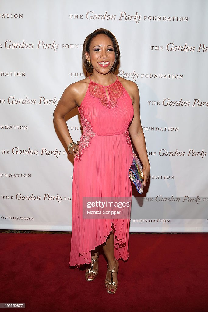 Mara Schiavocampo attends 2014 Gordon Parks Foundation awards dinner at Cipriani Wall Street on June 3, 2014 in New York City.