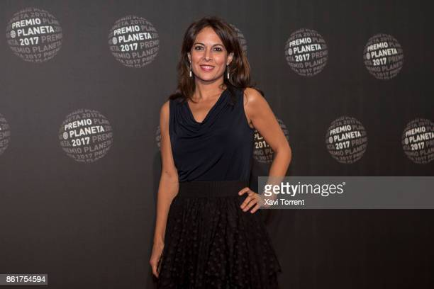 Mara Torres attends the 2017 Premio Planeta award on October 15 2017 in Barcelona Spain