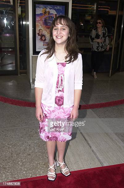 Mara Wilson during Destination Films premiere of Thomas the Magical RailroadTake A Magical Journey in Los Angeles California United States