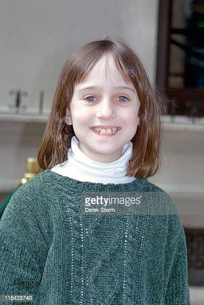 Mara Wilson during Mara Wilson Enters Planet Hollywood September 10 1996 at Planet Hollywood in New York City New York United States
