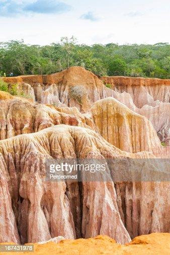 Marafa Canyon-Quénia : Foto de stock