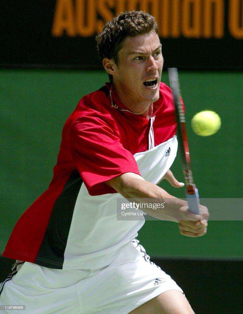 2004 Australian Open Men s Singles Third Round Marat Safin