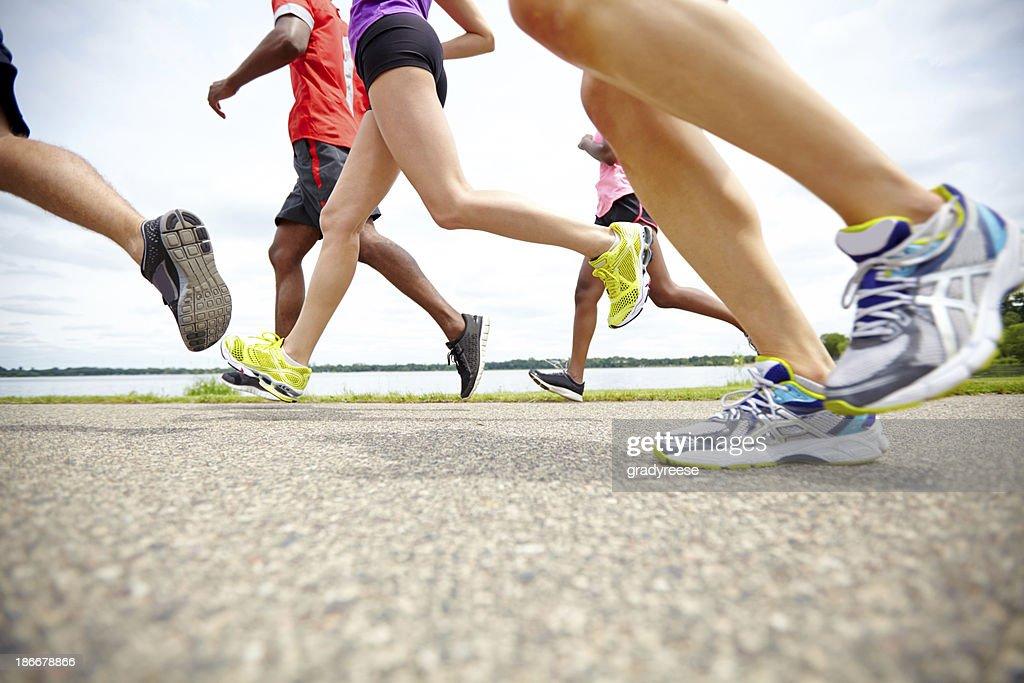 Marathon motion