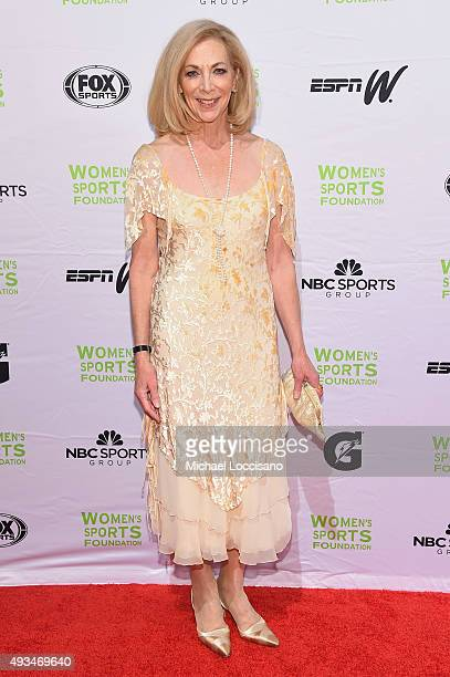 Marathon Runner Kathrine Switzer attends the 36th Annual Salute to Women In Sports at Cipriani Wall Street on October 20 2015 in New York City