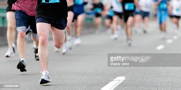 Maratón corredores