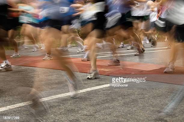 Marathon Startlinie