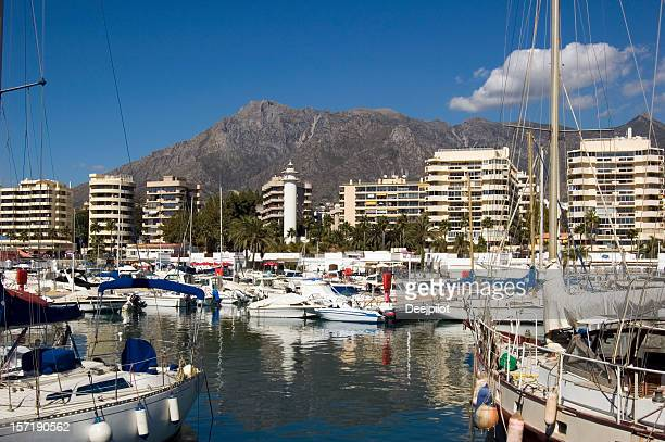 Marbella Harbour and Marina in Spain