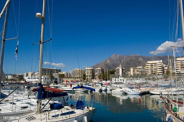 Marbella in Spanien Marina