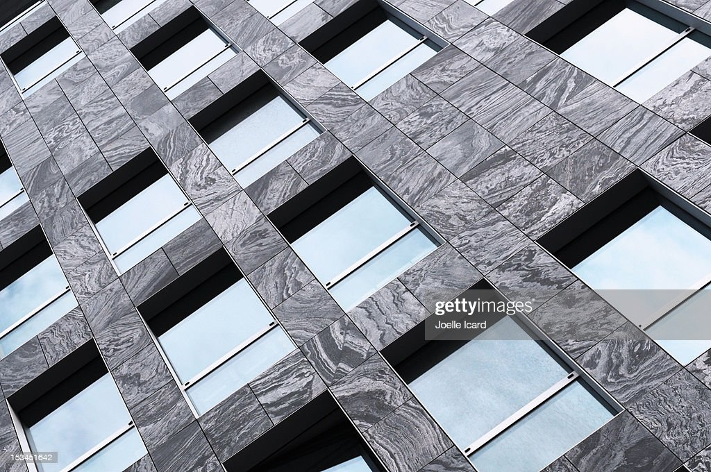 Marble building : Stock Photo