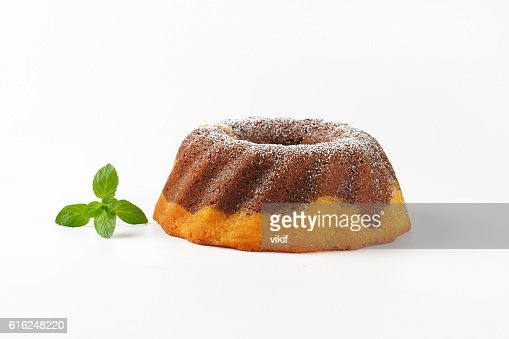 marble bundt cake : Foto de stock