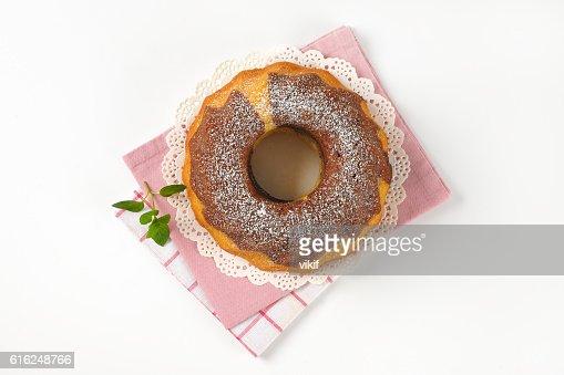 marble bundt cake : Stock Photo