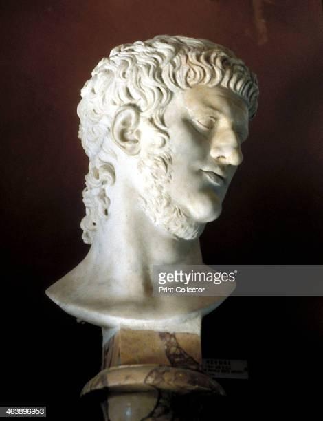 Marble bust of Nero Roman c54