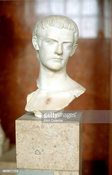 Marble bust of the Emperor Caligula Caligula was the third Roman Emperor ruling from 37 until he was assassinated in 41 Roman historians portray him...