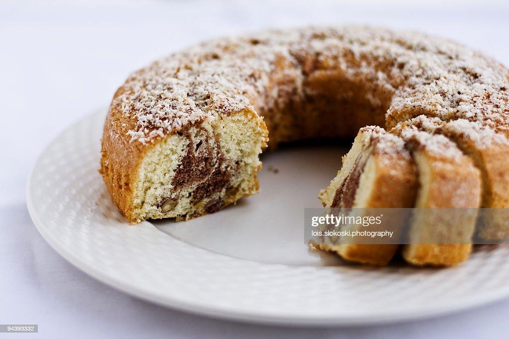 Marble Cake : Stock Photo
