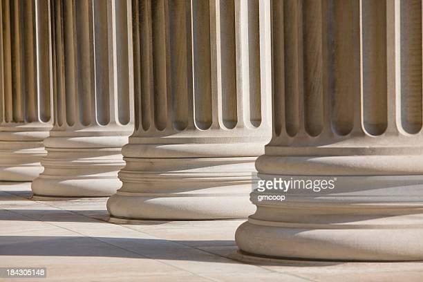 Colunas de mármore Horizontal