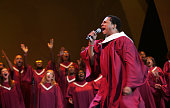 Marble Community Gospel Choir Marble Collegiate Church perform at Verizon Wireless How Sweet the Sound event on September 25 2009 in Newark NJ
