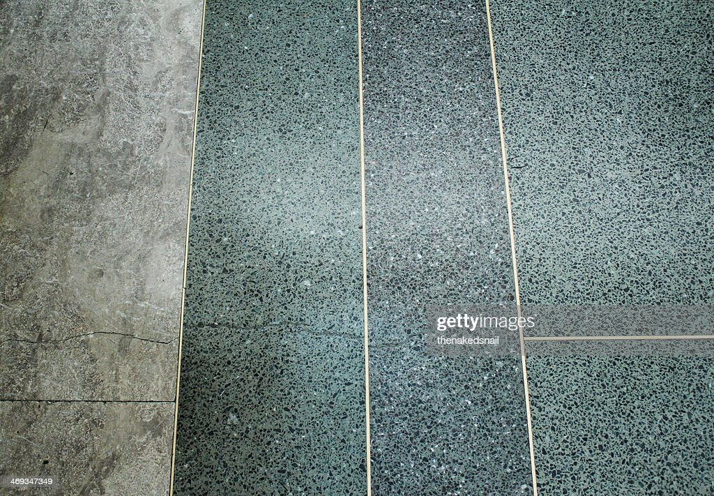 Marble floor : Stock Photo