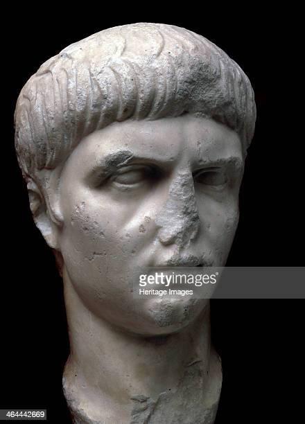 Marble portrait bust of the Roman Emperor Nero 1st century Nero became Emperor of Rome in 54 Tyrannical debauched and extravagant he committed...