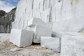 Marble quarries in the Apuan Alps