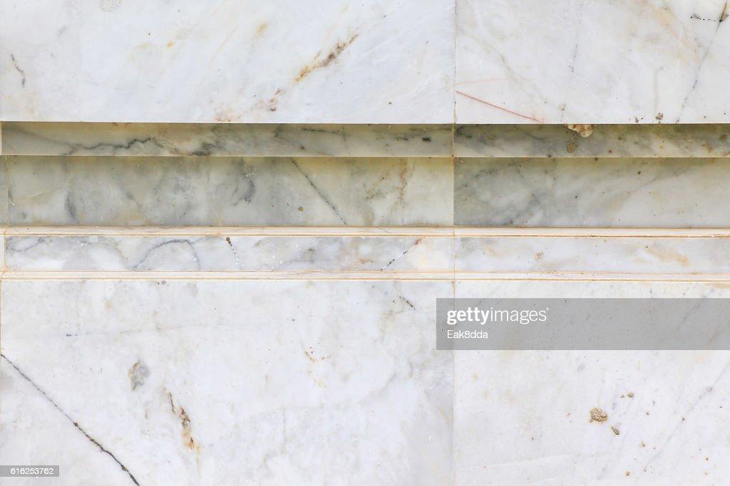 Pared de mármol. : Foto de stock