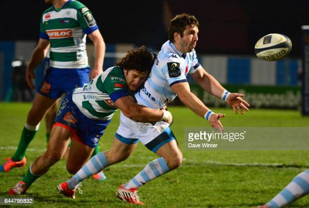 Marc ANDREU / Michele CAMPAGNARO Racing Metro 92 / Trevise European Champions Cup Photo Dave Winter / Icon Sport