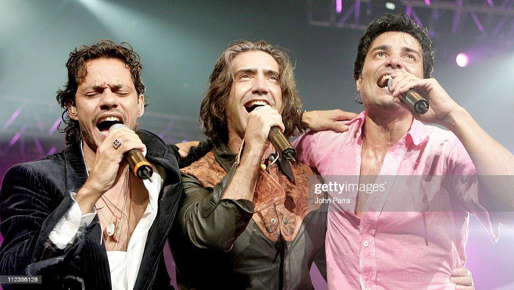 Marc Anthony, Chayanne, and Alejandro Fernandez Concert - September 18, 2005