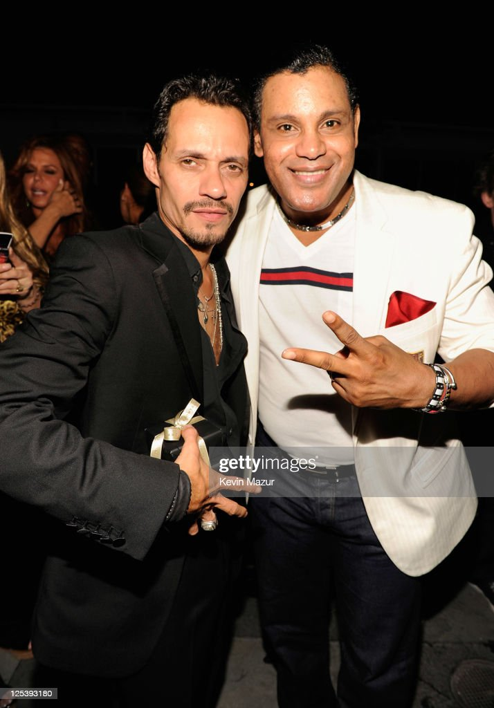Marc Anthony Celebrates 43rd Birthday With Family, Friends and Kohl's