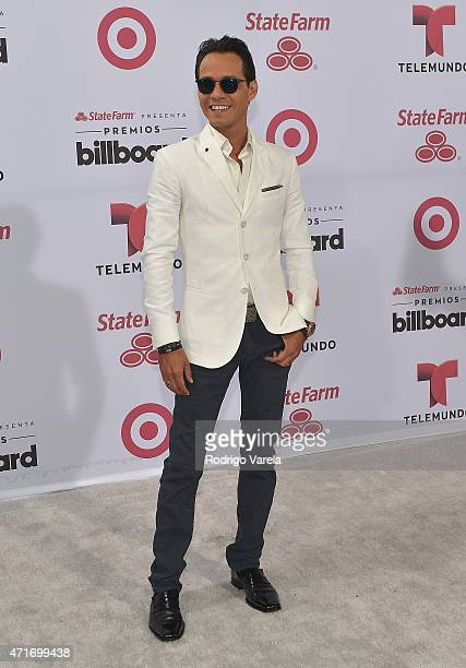 Marc Anthony arrives 2015 Billboard Latin Music Awards presented bu State Farm on Telemundo at Bank United Center on April 30 2015 in Miami Florida
