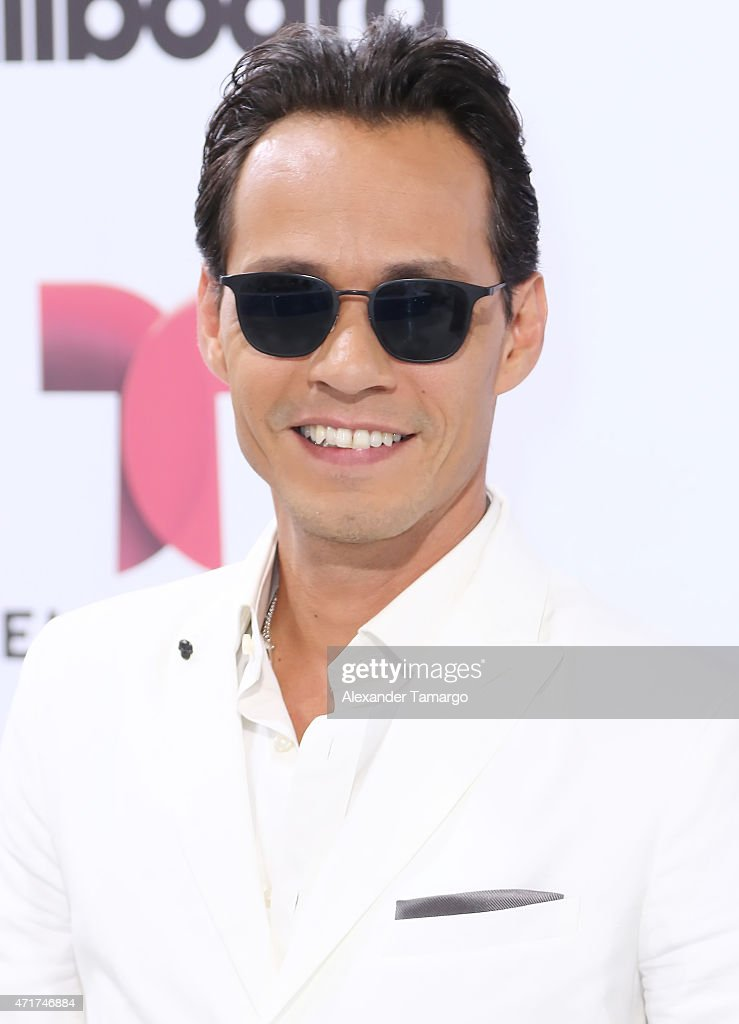 Marc Anthony arrives at 2015 Billboard Latin Music Awards presented by State Farm on Telemundo at Bank United Center on April 30, 2015 in Miami, Florida.