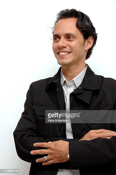 Marc Anthony at the 'El Cantante' press conference at The Four Seasons Hotel in Beverly Hills California on July 31 2007