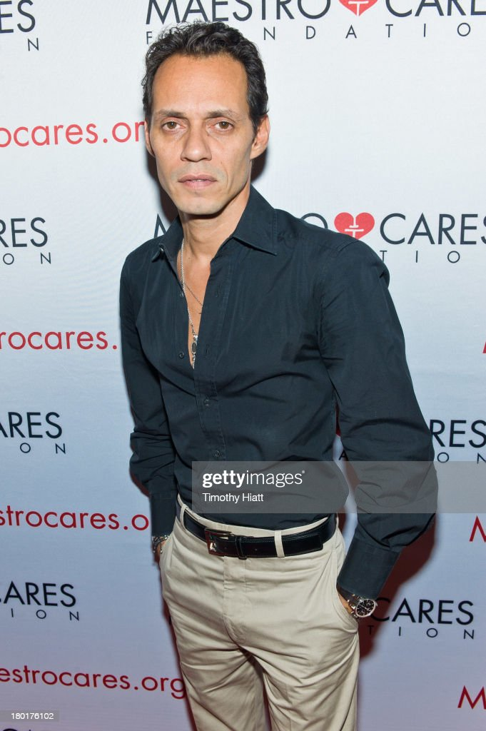 <a gi-track='captionPersonalityLinkClicked' href=/galleries/search?phrase=Marc+Anthony&family=editorial&specificpeople=202544 ng-click='$event.stopPropagation()'>Marc Anthony</a> attends 2nd Annual Maestro Cares Chicago Fundraiser at Y-Bar on September 9, 2013 in Chicago, Illinois.