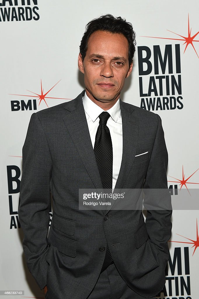 <a gi-track='captionPersonalityLinkClicked' href=/galleries/search?phrase=Marc+Anthony&family=editorial&specificpeople=202544 ng-click='$event.stopPropagation()'>Marc Anthony</a> attends BMI's 22nd Annual Latin Music Awards at Fountainbleau Miami Beach on March 31, 2015 in Miami Beach, Florida.