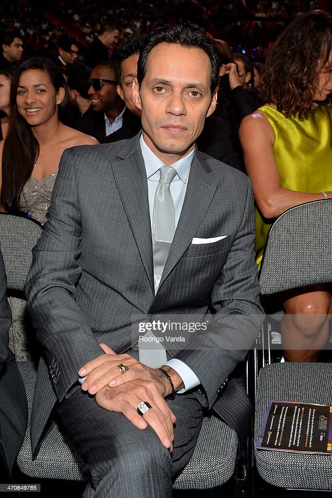 Marc Anthony attends Premio Lo Nuestro a la Musica Latina 2014 at American Airlines Arena on February 20, 2014 in Miami, Florida.