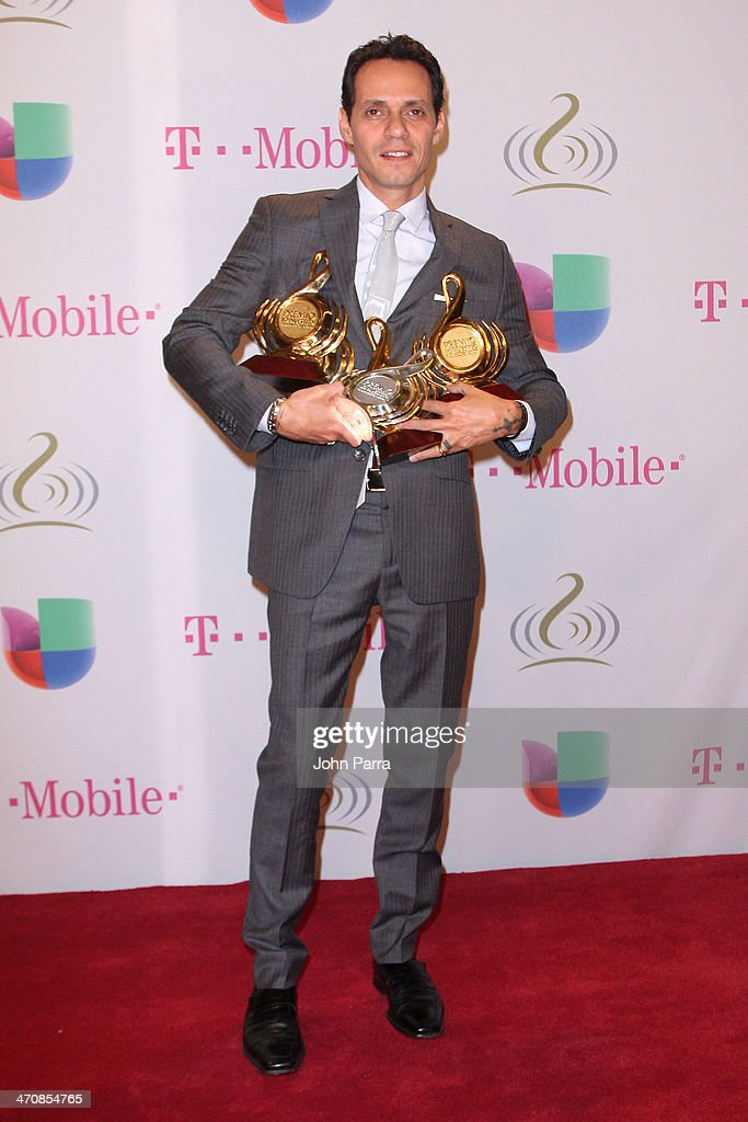 <a gi-track='captionPersonalityLinkClicked' href=/galleries/search?phrase=Marc+Anthony&family=editorial&specificpeople=202544 ng-click='$event.stopPropagation()'>Marc Anthony</a> attends Premio Lo Nuestro a la Musica Latina 2014 at American Airlines Arena on February 20, 2014 in Miami, Florida.