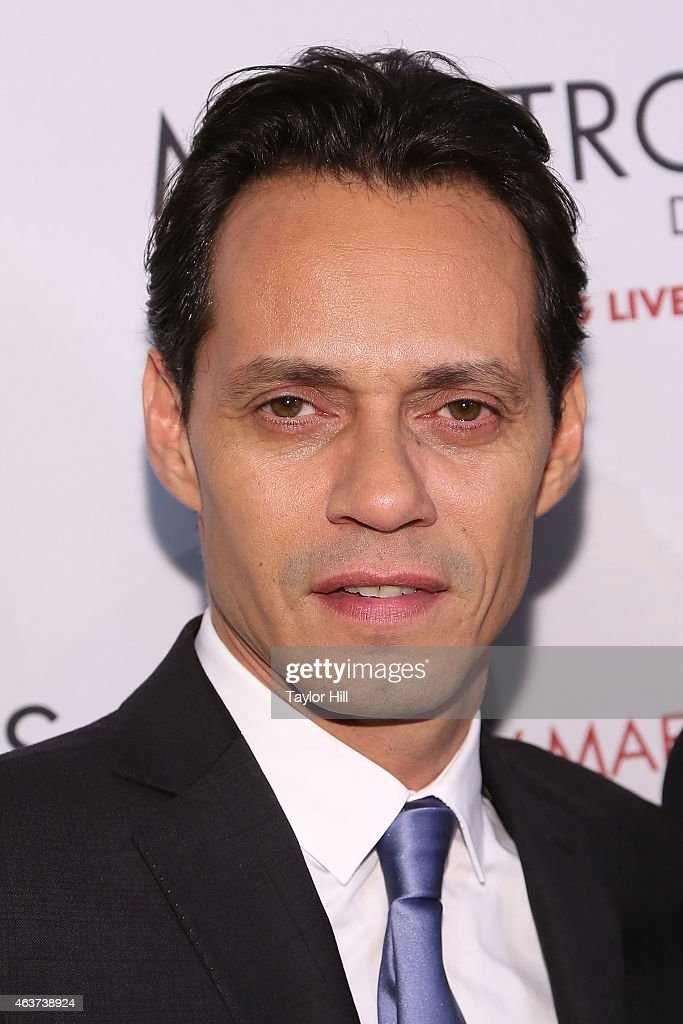 Marc Anthony attends the 2015 Maestro Cares Gala at Cipriani Wall Street on February 17, 2015 in New York City.