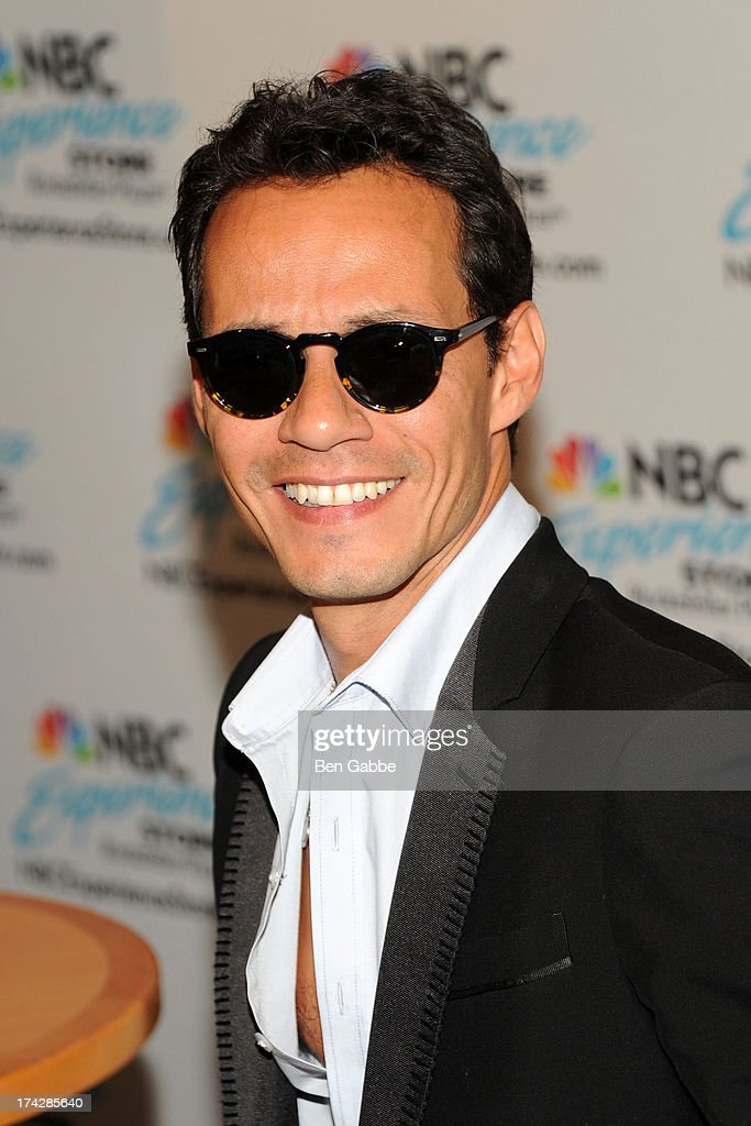 Marc Anthony attends the Meet And Greet at the NBC Experience Store on July 23 2013 in New York City