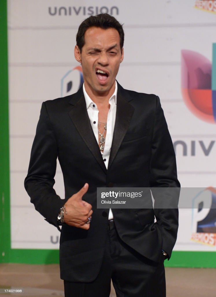 Marc Anthony attends the Premios Juventud 2013 at Bank United Center on July 18, 2013 in Miami, Florida.