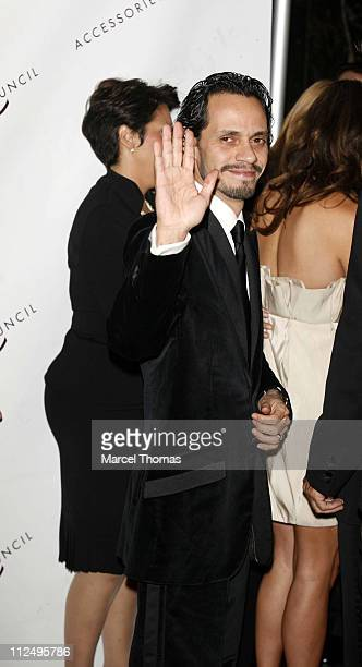 Marc Anthony during 10th Annual Ace Awards Arrivals at Cipriani 42nd Street in New York City New York United States
