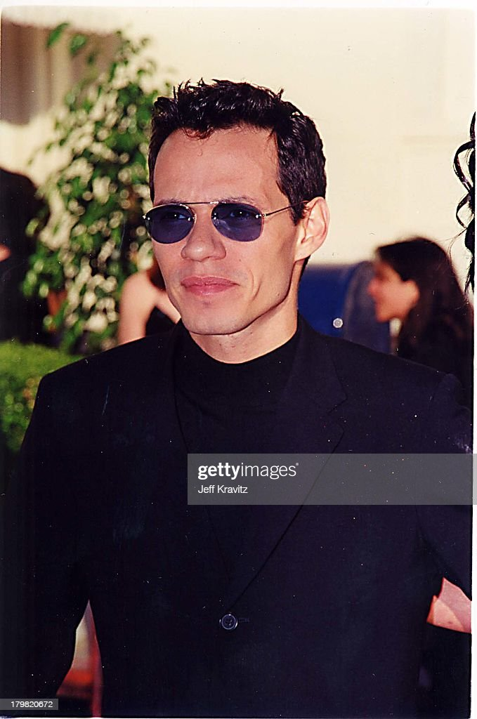 Marc Anthony during 2000 Blockbuster Awards at Shrine Auditorium in Los Angeles, California, United States.