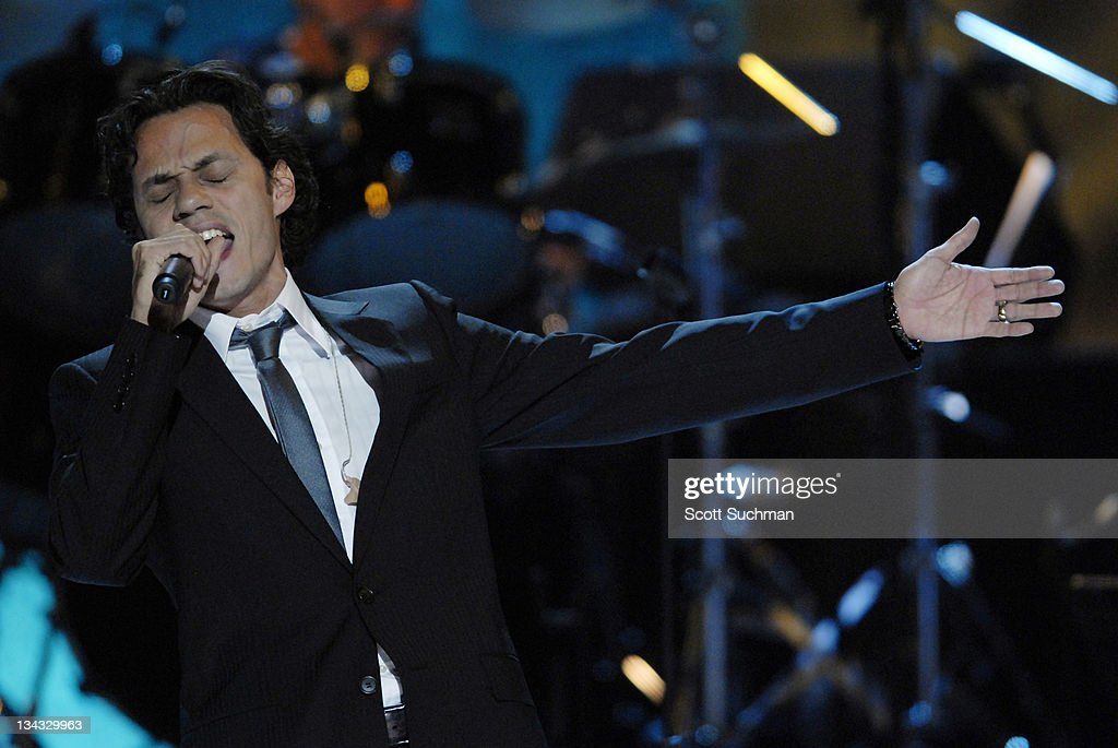 Marc Anthony during The Library of Congress Gershwin Prize for Popular Song Celebrates Paul Simon at The Warner Theatre in Washington, District of Columbia, United States.