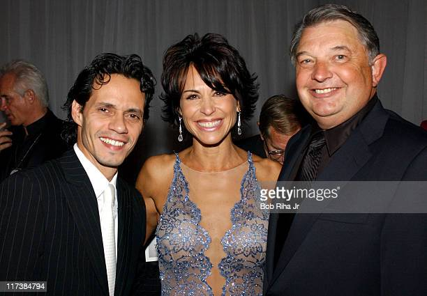 Marc Anthony Gala producer Giselle FernandezFarrand and Childrens Hospital Los Angeles CEO Walter Noce Jr in Beverly Hills Calif on Saturday Oct 2...