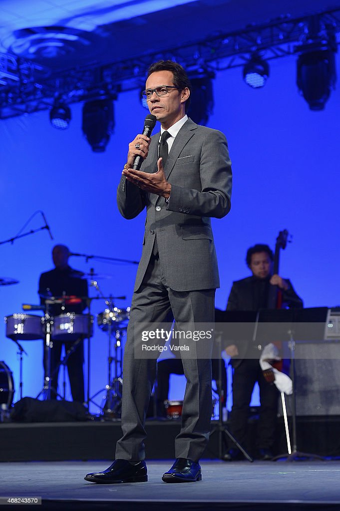 Marc Anthony onstage at BMI's 22nd Annual Latin Music Awards at Fountainbleau Miami Beach on March 31, 2015 in Miami Beach, Florida.