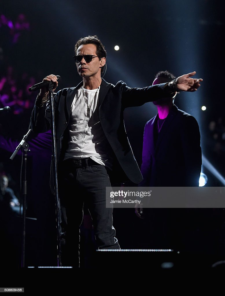Marc Anthony performs onstage at Madison Square Garden on February 6, 2016 in New York City.