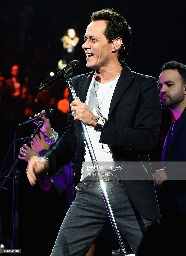 Marc Anthony performs onstage at Madison Square Garden on February 6 2016 in New York City