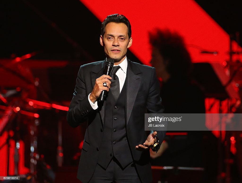 Marc Anthony performs onstage during the 2016 Person of the Year honoring Marc Anthony at the MGM Grand Garden Arena on November 16, 2016 in Las Vegas, Nevada.